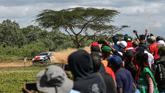 Ein 91-jähriger Pole im Ziel der Safari-Rallye