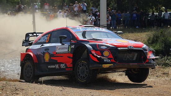 Tänak dominiert zum Auftakt der Italien-Rallye