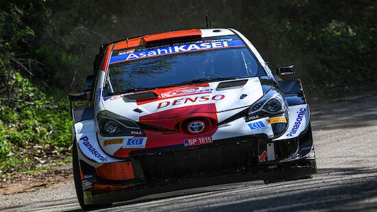 Ogier führt bei der Kroatien-Rallye