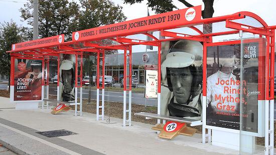 Jochen-Rindt-Platz in Graz vorgestellt