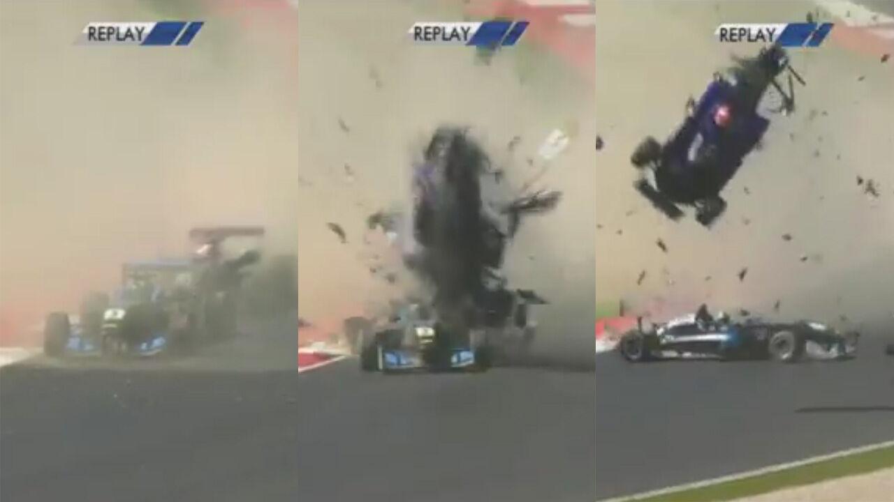 Formel 3 Unfall Spielberg