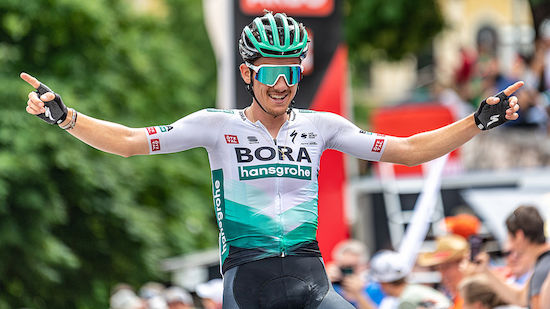 Tour de France: Konrad auf 14. Etappe Zweiter