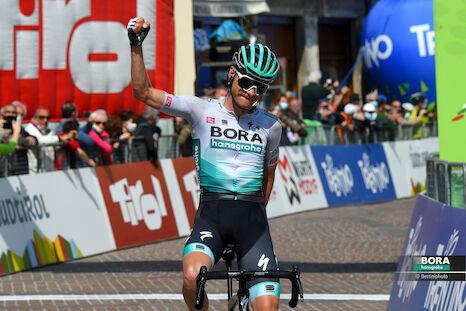 Felix Großschartner als Kapitän bei der Vuelta