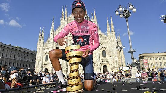 Kolumbien feiert Giro-Triumphator Egan Bernal