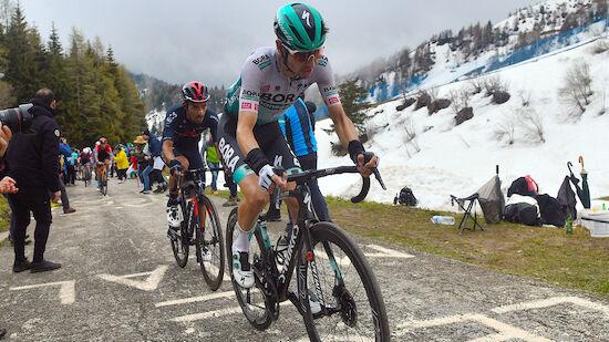 Nach Massensturz: Giro-Aus für Bora-Star