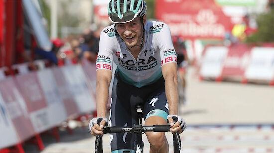 Großschartner knapp an Vuelta-Führung vorbei