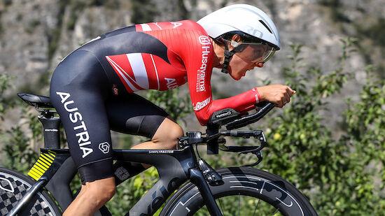WM: Kiesenhofer verpasst im Zeitfahren Top 10