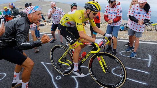 Pogacar gewinnt Königsetappe der Tour de France
