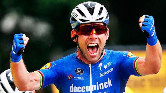 TdF: Cavendish fehlt noch ein Sieg auf Rekord