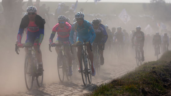 Paris-Roubaix droht ins Wasser zu fallen