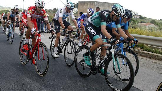 Giro d'Italia: Führungswechsel am Ätna