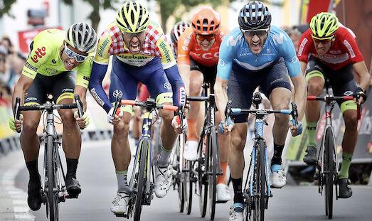 Barbero holt erste Ö-Tour-Etappe, Liepins in rot