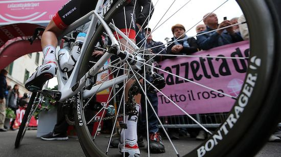 Unfall überschattet 5. Giro-Etappe