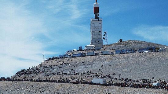 Tour-Premiere für das Mont-Ventoux-Doppel
