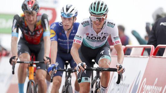 Vuelta: Großschartner in Top 10 - neuer Leader