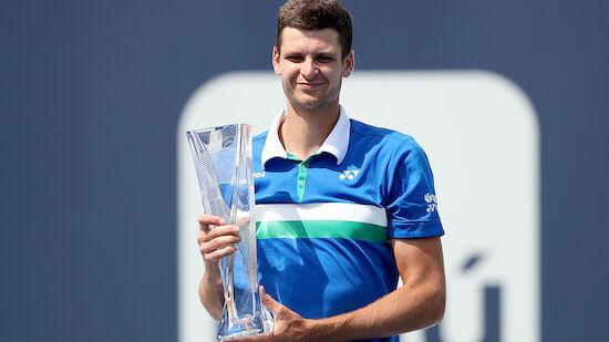 Hurkacz gewinnt ATP-1000er in Miami
