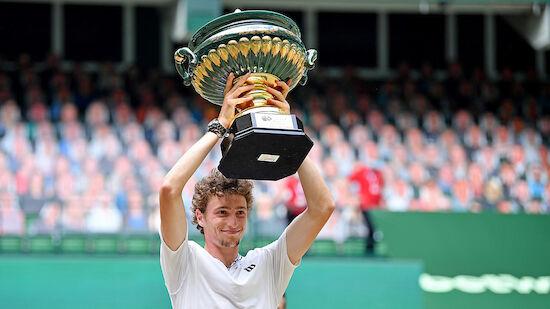 Ugo Humbert holt ATP-Titel in Halle