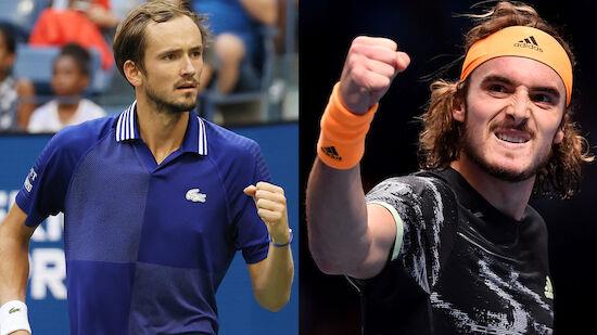 Medvedev und Tsitsipas fix bei ATP Finals