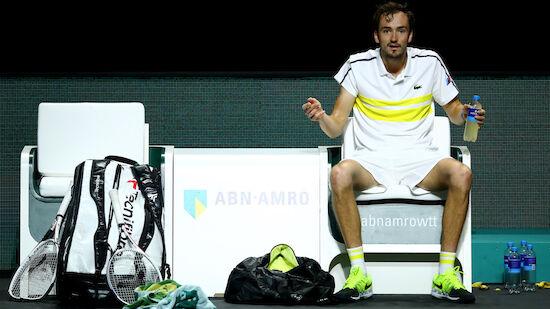 Medvedvev als neue Tennis-Nr.-2 mit