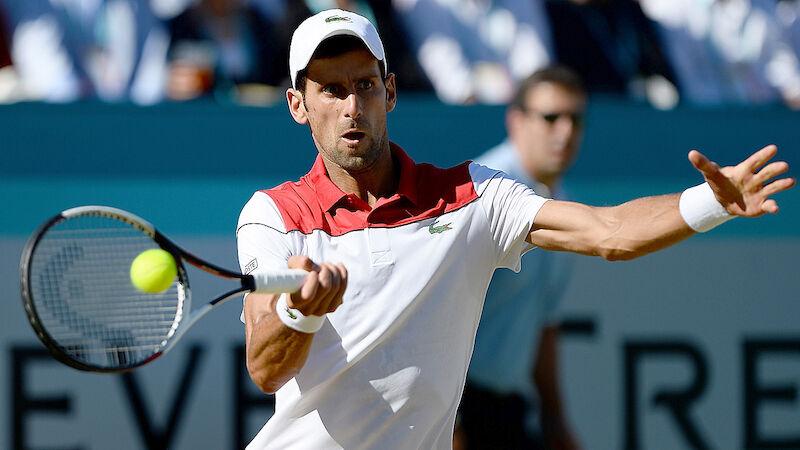 LIVE: Djokovic-Chardy im Halbfinale von Queen's