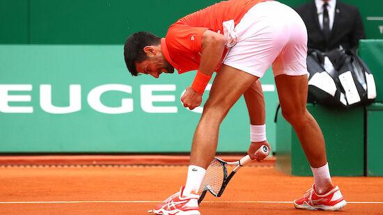 Djokovic zum Auftakt in Monte Carlo mit Mühe