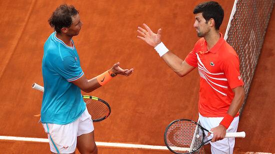 Djokovic folgt Nadal ins Rom-Finale