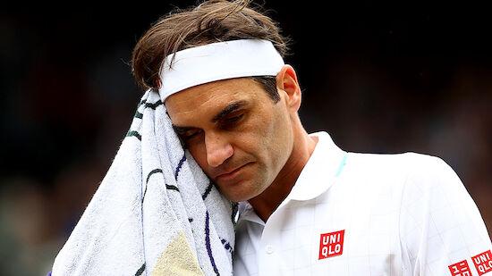 Knie-Operation! Roger Federer fällt lange aus