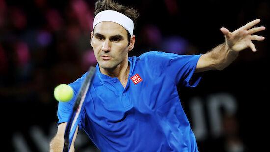 Federer konzentriert sich auf ATP-Finals