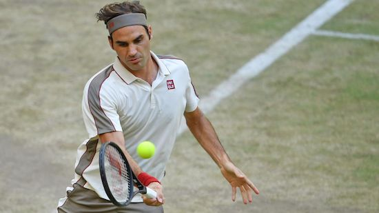 Federer einziger Gesetzter im Halle-Halbfinale
