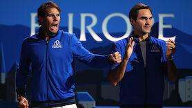 Thiem: So halfen Federer & Nadal bei Laver Cup