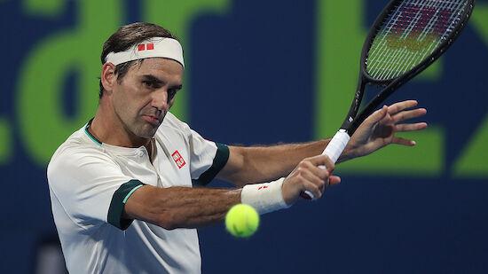 Federer verzichtet auf sein Antreten in Dubai
