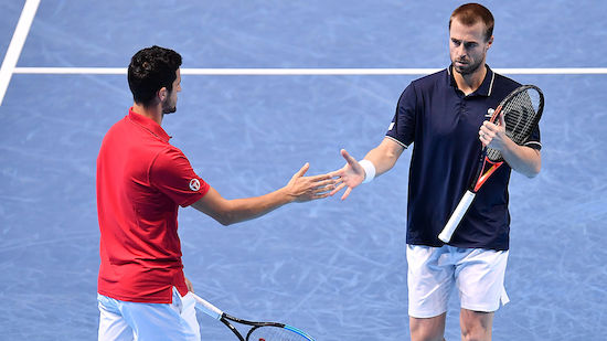 ATP in Auckland: Auftakt-Sieg für Marach