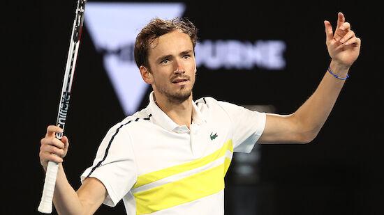 Medvedev löst Nadal als Nummer 2 der Welt ab