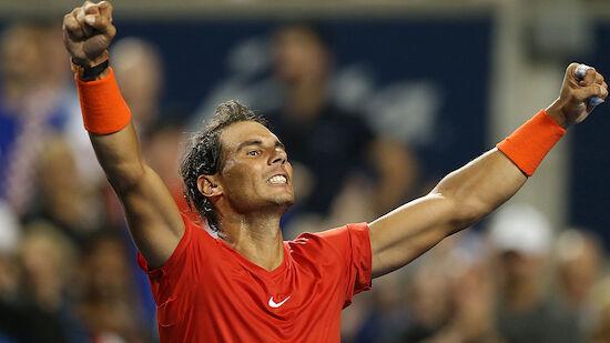 Nadal müht sich ins Halbfinale von Toronto
