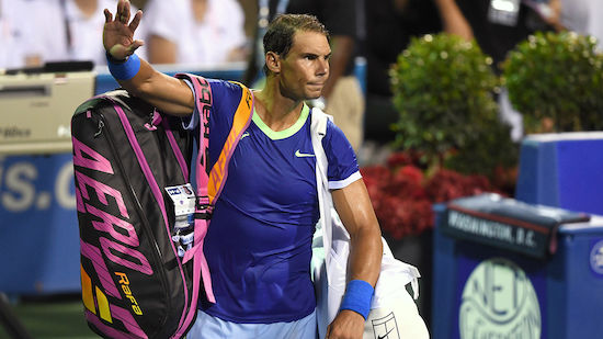 Nach Djokovic sagt auch Nadal für Cincinnati ab