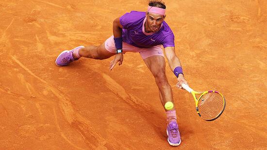 Rom: Nadal nach Schockmoment im Halbfinale