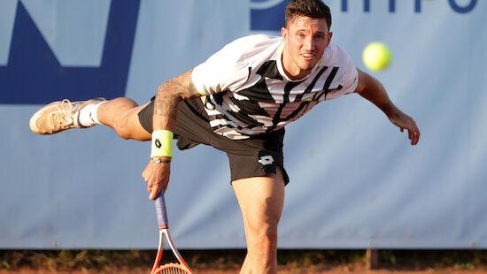 Novak und Misolic in Tulln im Viertelfinale out