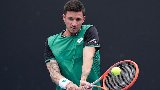 Novak spielt in Marseille und trifft auf Gaston