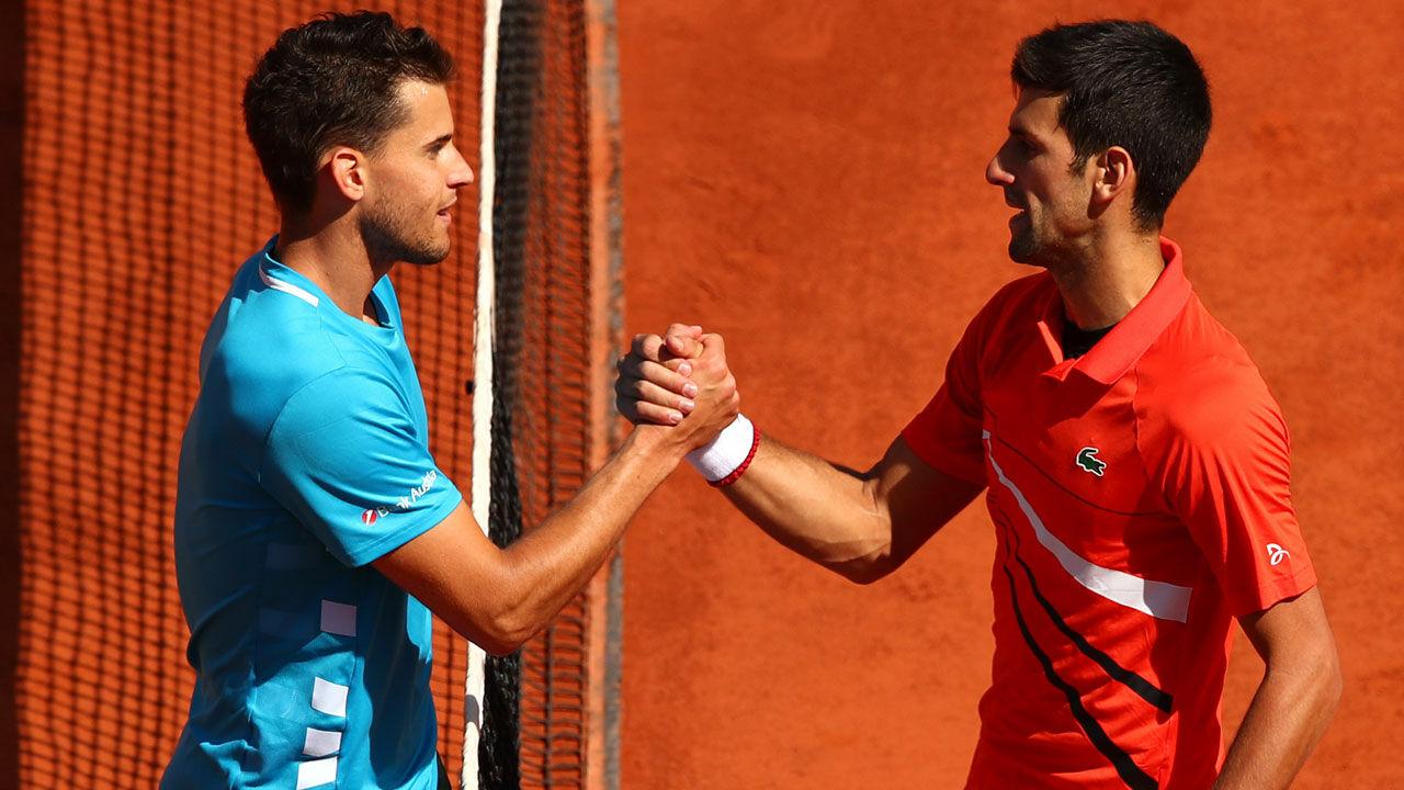 """Novak Djokovic vor Finals-Duell: """"Dominic Thiem ist fantastisch"""" - LAOLA1.at"""