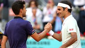 PK-Eklat: Federer auf Thiems Seite