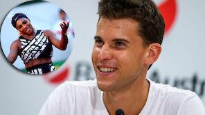 Thiem-Angebot an Serena Williams