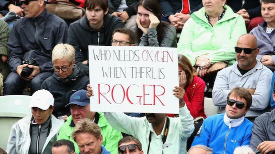 Federer souverän im Stuttgart-Halbfinale