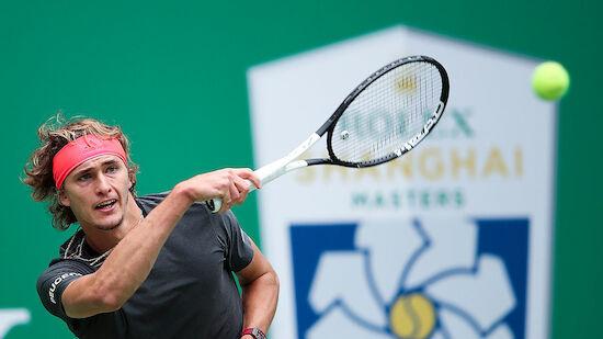 Zverev kämpft in Runde zwei Peking-Sieger nieder