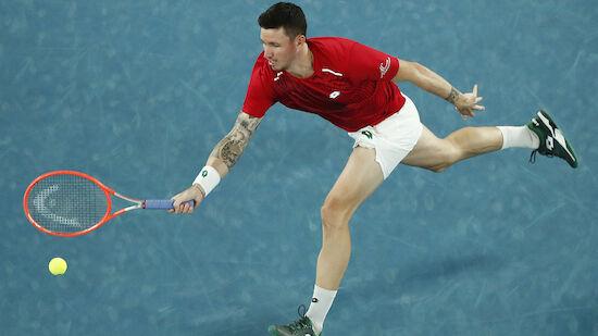Novak ringt in Montpellier Nr. 27 der Welt nieder