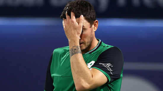 Dennis Novak verliert in Gstaad gegen Casper Ruud