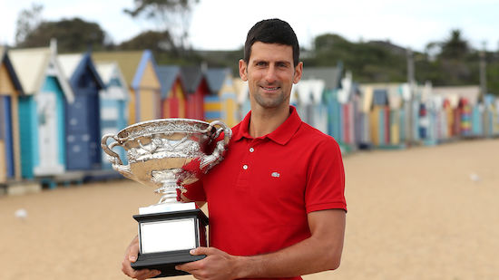 Djokovic will Fokus auf Grand-Slam-Turniere legen