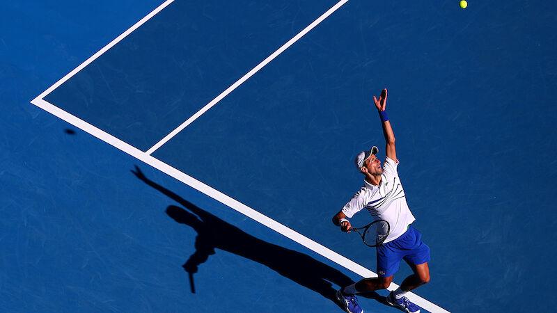 Djokovic gibt einen Satz ab