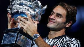 Federer-Triumph in Melbourne