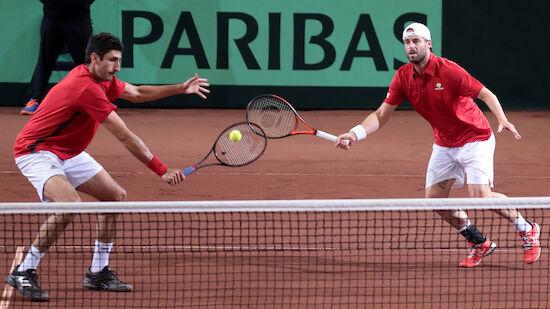 Marach/Oswald fixieren Sieg im Davis Cup