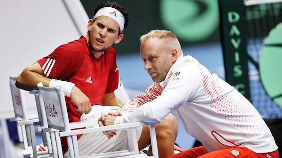 Thiem-Aus: Schwerer Schlag für ÖTV-Davis-Cup-Team